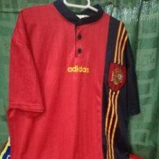 Coleccionismo deportivo: ESPAÑA SPAIN 1996 L CAMISETA FUTBOL FOOTBALL SHIRT . Lote 133958158