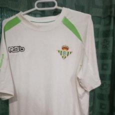 Coleccionismo deportivo: REAL BETIS S CAMISETA FUTBOL FOOTBALL SHIRT . Lote 133960950