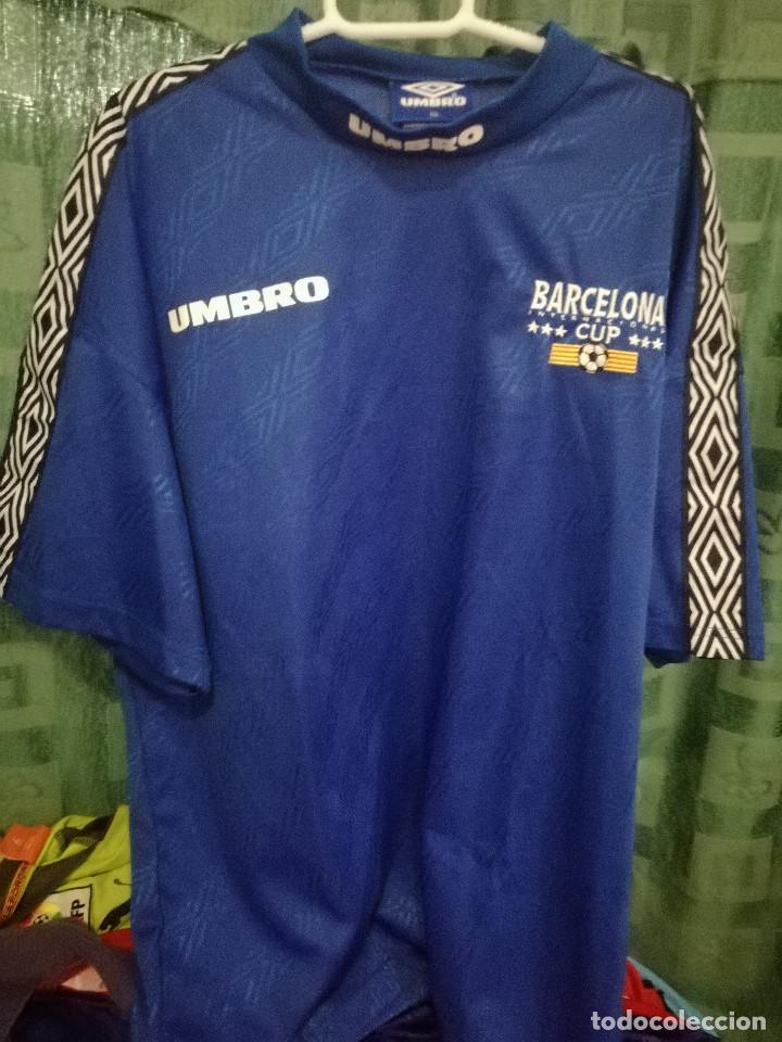 17b202156 UMBRO BARCELONA CUP XL CAMISETA FUTBOL FOOTBALL SHIRT TRIKOT (Coleccionismo  Deportivo - Material Deportivo -