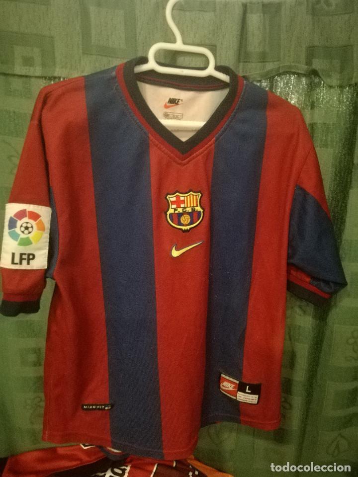 reputable site cb614 0e300 FC Barcelona XXS 1998 camiseta futbol football shirt