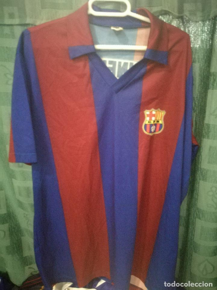 new concept 28da9 f7ea2 LINEKER FC BARCELONA REPLICA S camiseta futbol football shirt