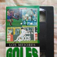 Coleccionismo deportivo: MEJORES GOLES DE LA LIGA 96-97 FUTBOL VHS PARA COLECCIONISTAS. Lote 134572722