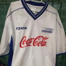 Collectionnisme sportif: HONDURAS SIGNED L CAMISETA FUTBOL FOOTBALL SHIRT . Lote 134858646