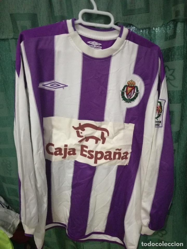 Usado, Real Valladolid MATCH WORN XS camiseta futbol football shirt segunda mano