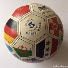 Coleccionismo deportivo: BALÓN COPA MUNDIAL DE FÚTBOL MEXICO 1986 -. Lote 135469750