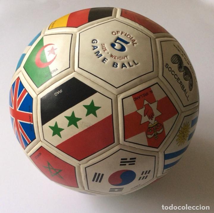 Coleccionismo deportivo: Balón copa mundial de fútbol MEXICO 1986 - - Foto 2 - 135469750