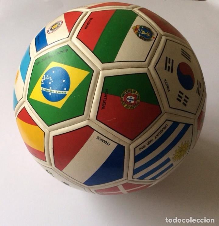 Coleccionismo deportivo: Balón copa mundial de fútbol MEXICO 1986 - - Foto 3 - 135469750