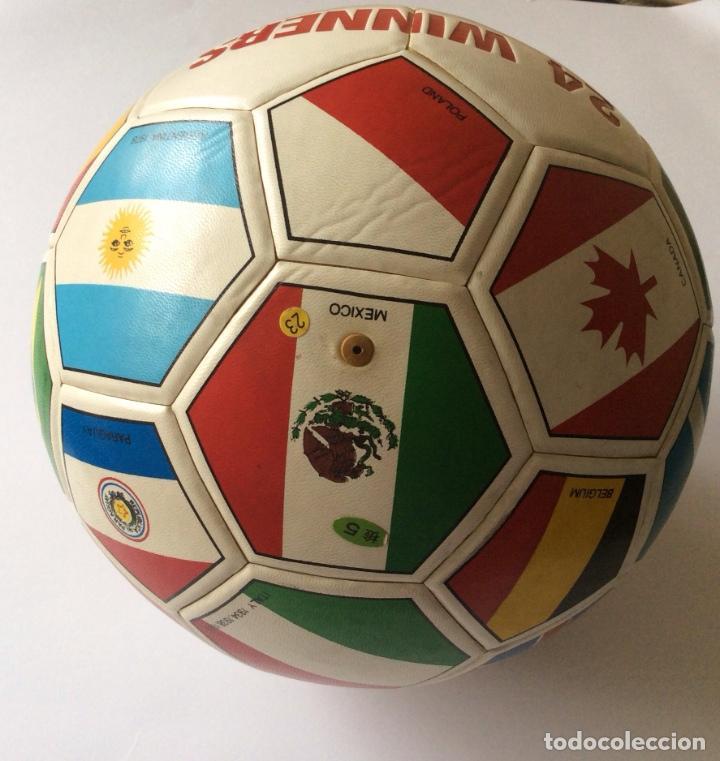 Coleccionismo deportivo: Balón copa mundial de fútbol MEXICO 1986 - - Foto 4 - 135469750