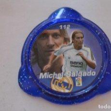 Colecionismo desportivo: KRAKS PANINI 2006-07 R MADRID 112 MICHEL SALGADO. Lote 135683323