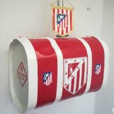 Coleccionismo deportivo: ALAMBIQUE DEL ATLÉTICO DE MADRID. PIEZA RECONVERTIDA EN ARTÍCULO PARA AFICIONADOS. Lote 136060524