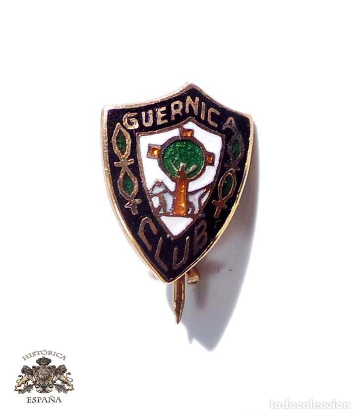 INSIGNIA DE ALFILER CLUB GUERNICA EN METAL ESMALTADO AL FUEGO (Coleccionismo Deportivo - Material Deportivo - Fútbol)