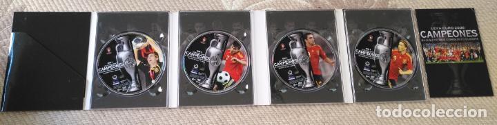 FUTBOL UEFA EURO 2008 TM CAMPEONES EL EQUIPO QUE CONQUISTO EUROPA 4 DVD (Coleccionismo Deportivo - Material Deportivo - Fútbol)