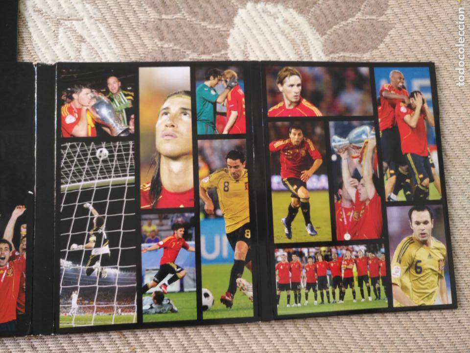 Coleccionismo deportivo: FUTBOL UEFA EURO 2008 TM CAMPEONES EL EQUIPO QUE CONQUISTO EUROPA 4 DVD - Foto 5 - 136257198