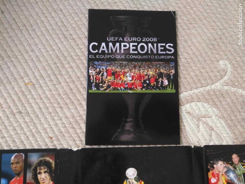 Coleccionismo deportivo: FUTBOL UEFA EURO 2008 TM CAMPEONES EL EQUIPO QUE CONQUISTO EUROPA 4 DVD - Foto 6 - 136257198