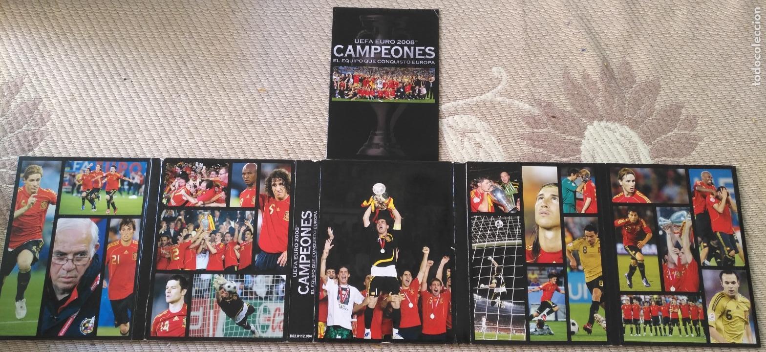 Coleccionismo deportivo: FUTBOL UEFA EURO 2008 TM CAMPEONES EL EQUIPO QUE CONQUISTO EUROPA 4 DVD - Foto 7 - 136257198