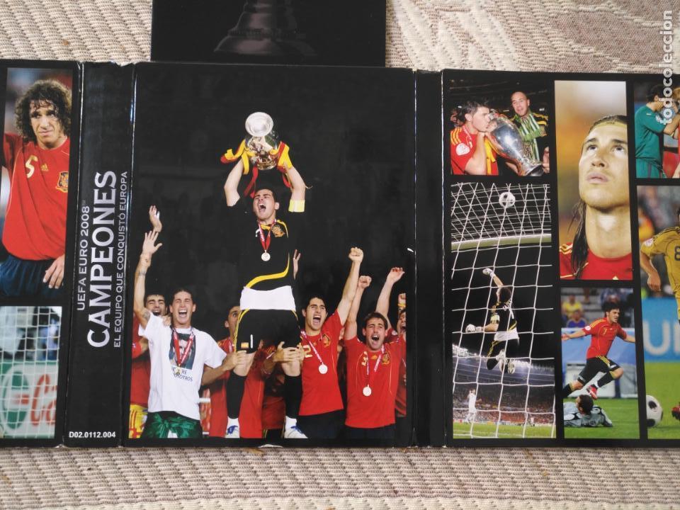 Coleccionismo deportivo: FUTBOL UEFA EURO 2008 TM CAMPEONES EL EQUIPO QUE CONQUISTO EUROPA 4 DVD - Foto 8 - 136257198