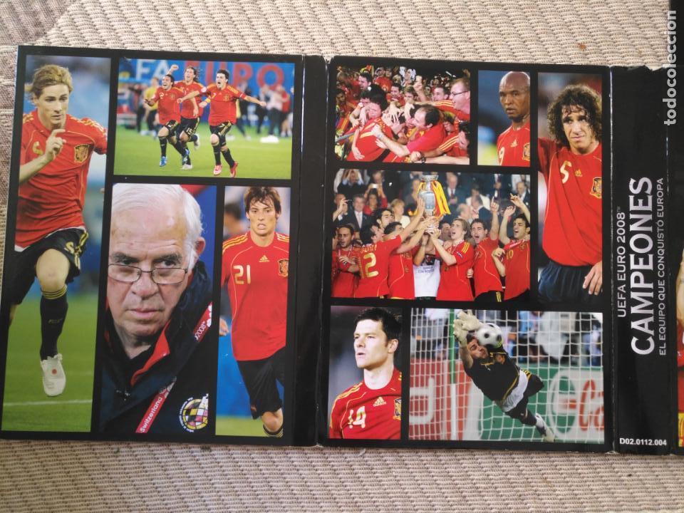 Coleccionismo deportivo: FUTBOL UEFA EURO 2008 TM CAMPEONES EL EQUIPO QUE CONQUISTO EUROPA 4 DVD - Foto 10 - 136257198