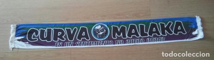 BUFANDA ULTRAS MALAKA HINCHAS MALAGA HOOLIGANS FUTBOL (Coleccionismo Deportivo - Material Deportivo - Fútbol)