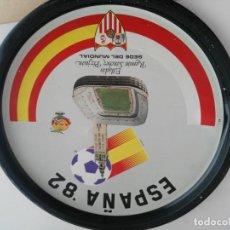 Coleccionismo deportivo: ANTIGUA BANDEJA DE MUNDIAL 82 SEDE SEVILLA. Lote 138540214