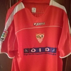 Coleccionismo deportivo: INTI PODESTA URUGUAY SEVILLA FC MATCH WORN VERY DIFFICULT SPONSOR XL CAMISETA FUTBOL FOOTBALL SHIRT. Lote 237812875