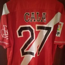 Coleccionismo deportivo: SEVILLA ATL FC MATCH WORN M JUAN CALA CARDIFF LAS PALMAS CHINA CAMISETA FUTBOL FOOTBALL SHIRT. Lote 138854678
