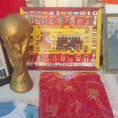 Coleccionismo deportivo: ESPAÑA 2010 - MUNDIAL SUDAFRICA. CUADRO DE LOS CAMPEONES CONMEMORATIVO. Lote 138913882