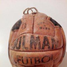 Coleccionismo deportivo: ANTIGUO BALÓN DE FÚTBOL, AÑOS 1920-1930 VEAN FOTOS. Lote 139129398