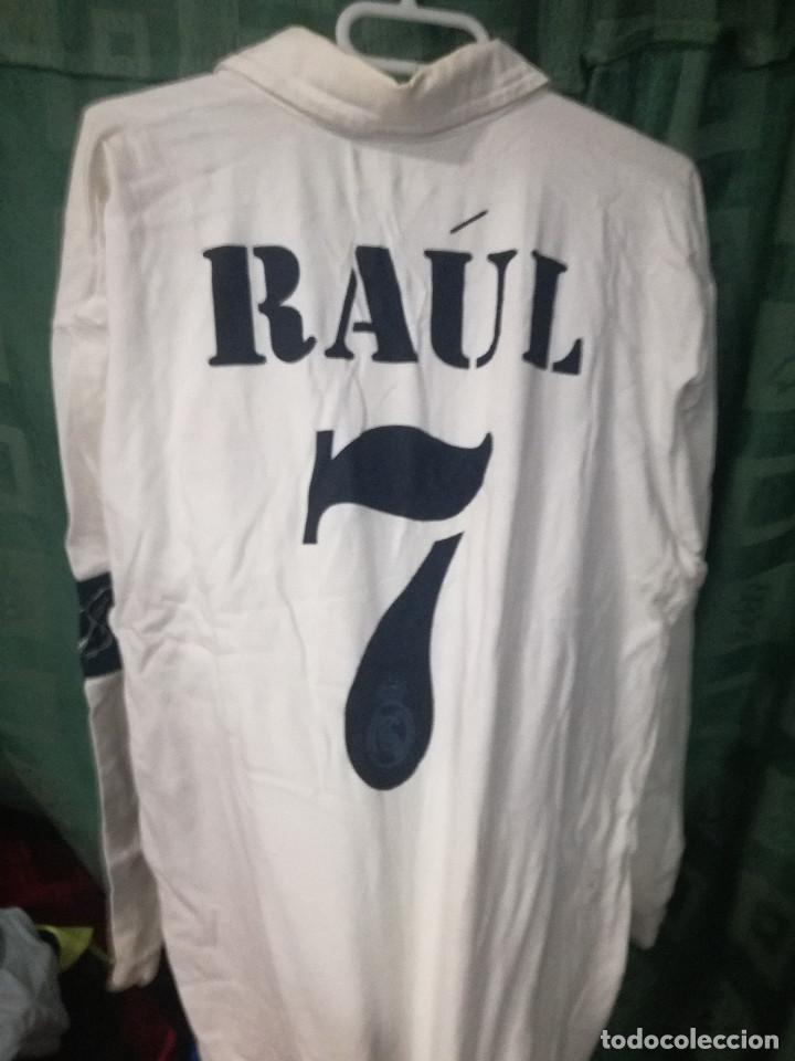 0f2c4369bae Coleccionismo deportivo  REAL MADRID RAUL L JERSEY camiseta futbol football  shirt - Foto 2 -