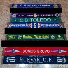 Coleccionismo deportivo: COLECCIÓN DE BUFANDAS DE FUTBOL. FOOTBAL SCARVES COLLECTION. Lote 139936946