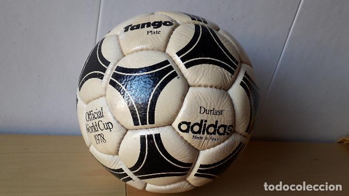 balon futbol adidas durlast   tango river plate   official world cup 1978   MADE IN SPAIN   NO JUGADO 7f2d662986e20