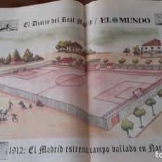 Coleccionismo deportivo: REAL MADRID - POSTERS HISTORICOS - DECADA DEL 1910-1920. Lote 140091834