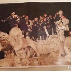 Coleccionismo deportivo: REAL MADRID - POSTERS HISTORICOS - DECADA DEL 1960-1970. Lote 140092534