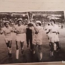 Coleccionismo deportivo: REAL MADRID - POSTERS HISTORICOS - DECADA DEL 1980-1990. Lote 140093050