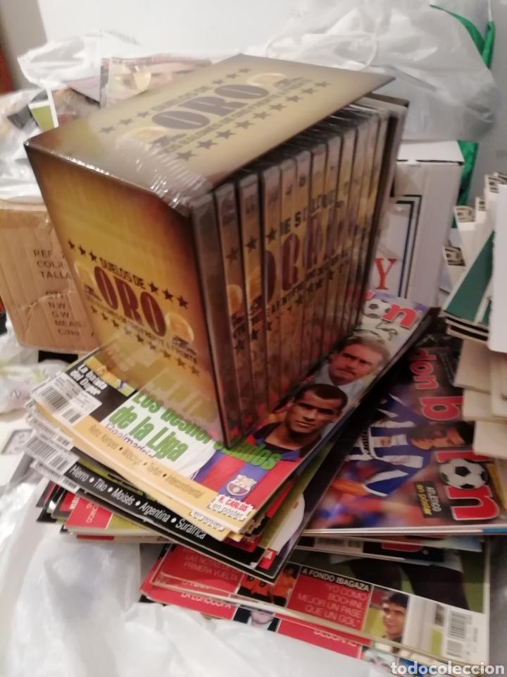 Coleccionismo deportivo: Duelos de oro. Colección 13 dvds de estrellas. Marca. - Foto 4 - 140165062