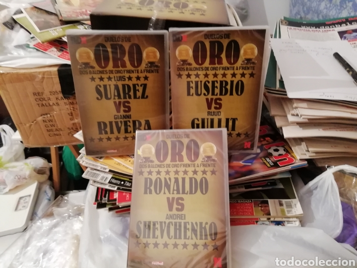 Coleccionismo deportivo: Duelos de oro. Colección 13 dvds de estrellas. Marca. - Foto 7 - 140165062