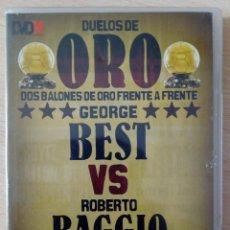Coleccionismo deportivo: DVD 7 DUELOS DE ORO BEST VS BAGGIO. EDITADO POR MARCA. Lote 140256754
