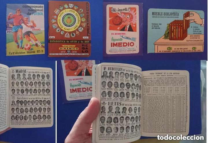ALMANAQUE DINAMICO 1978 / 79 FUTBOL CON FOTO PLANTILLAS EQUIPOS Y CALENDARIO IMEDIO CAMPEONATO 1975 (Coleccionismo Deportivo - Material Deportivo - Fútbol)