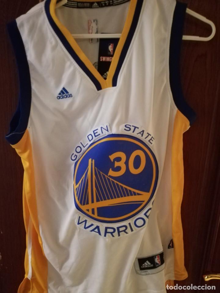 CURRY GOLDEN STATE WARRIORS NBA BASKET BASQUET CAMISETA SHIRT EQU M  (Coleccionismo Deportivo - Material f036918ba17