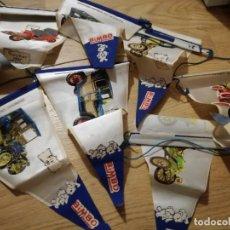 Coleccionismo deportivo: BANDERIN BIMBO LOTE COCHES REGULAR ESTADO . Lote 143108510