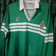 Colecionismo desportivo: UE SANTS BARCELONA L CAMISETA FUTBOL FOOTBALL SHIRT . Lote 143191230