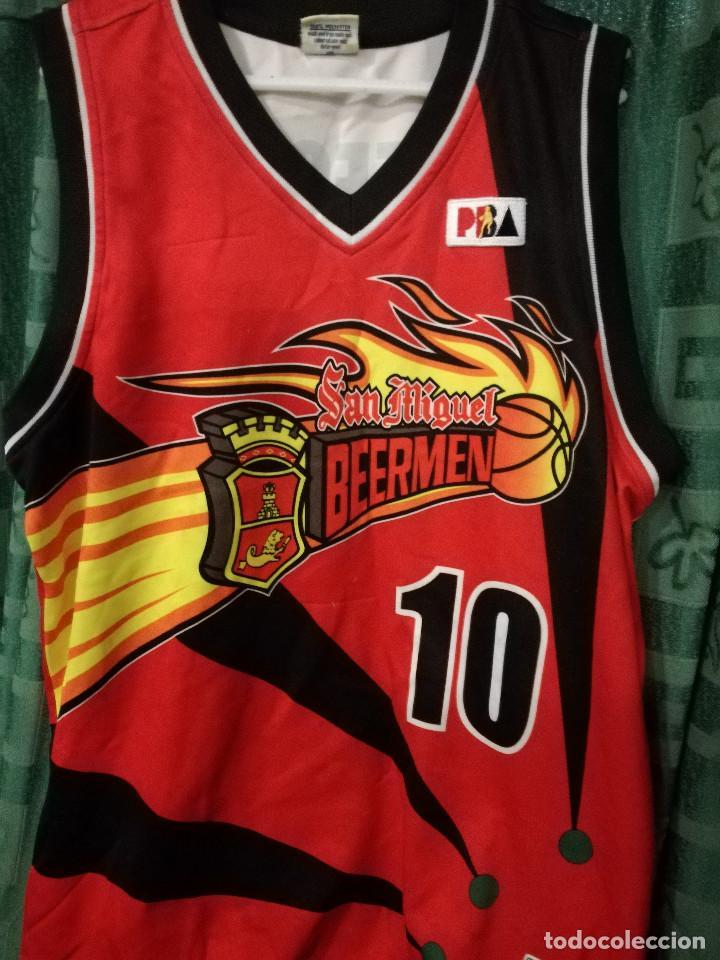 462c7a6f6d7 3 fotos SAN MIGUEL BEERMEN FILIPINAS PHILIPPINES BASKET SHIRT BASQUET XXL  (Coleccionismo Deportivo - Material Deportivo ...