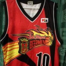 Coleccionismo deportivo: SAN MIGUEL BEERMEN FILIPINAS PHILIPPINES BASKET SHIRT BASQUET XXL . Lote 143192498
