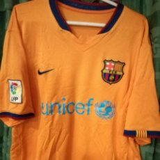 Coleccionismo deportivo: FC BARCELONA ETOO L DORSAL MAL ESTADO CAMISETA FUTBOL FOOTBALL SHIRT . Lote 143193210