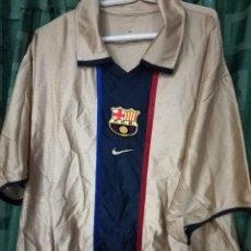 Coleccionismo deportivo: FC BARCELONA MATCH WORN XL DORSAL MAL ESTADO CAMISETA FUTBOL FOOTBALL SHIRT . Lote 143193430
