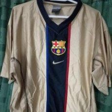 Coleccionismo deportivo: FC BARCELONA MATCH WORN XL DORSAL MAL ESTADO CAMISETA FUTBOL FOOTBALL SHIRT . Lote 143193502