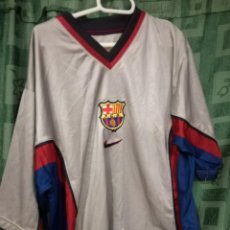 Coleccionismo deportivo: FC BARCELONA MATCH WORN L CAMISETA FUTBOL FOOTBALL SHIRT . Lote 143194438