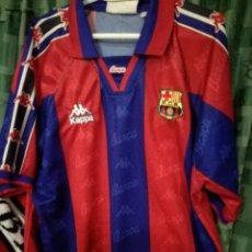 Coleccionismo deportivo: FC BARCELONA CAMISETA FUTBOL FOOTBALL SHIRT XL . Lote 143195498