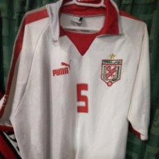 Coleccionismo deportivo: TUNISIA TUNEZ XXL CAMISETA FUTBOL FOOTBALL SHIRT MAGLIA . Lote 143196238