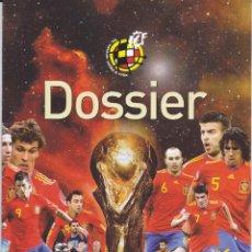 Coleccionismo deportivo: ESPANA - COREA Y ESPANA - SERBIA 2012 PROGRAMA DESDE SUIZA. Lote 143202586