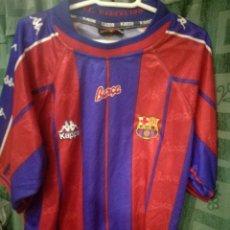 Collectionnisme sportif: FC BARCELONA L FOOTBALL SHIRT CAMISETA FUTBOL. Lote 143361738